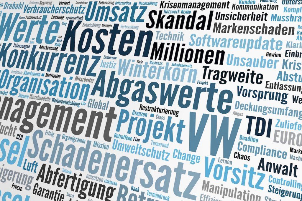 Diesel Abgas Skandal; Stickoxide Affäre im VW Konzern