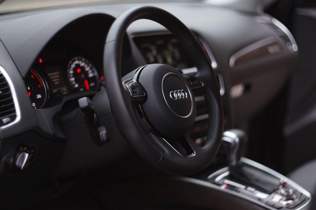 Audi Lenkrad - Logo